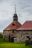 Old and ancient stone fortress Korela .The Town Of Royalty Free Stock Image