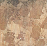 Old  ancient worn wall background Stock Photography