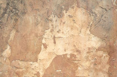 Old  ancient worn wall background Stock Images