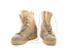 Free Old And Dirty Combat Boots Royalty Free Stock Image - 69057816