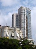 Old And New Architecture Tel Aviv Israel Royalty Free Stock Photography