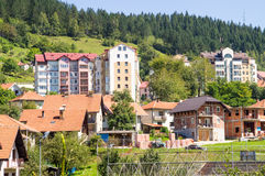 Free Old And New Houses In The City Nova Varos In The West Serbia Stock Photography - 77098512