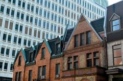 Free Old And New Houses With Huge Windows Royalty Free Stock Photography - 100430647