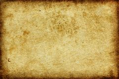 Old And Worn Paper Background Royalty Free Stock Image