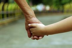 Free Old And Young Hand Stock Photography - 3200582