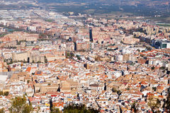 Old andalusian city.  Jaen, Spain Royalty Free Stock Image