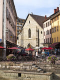 Old Annecy church, France Stock Images