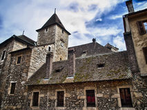 Old Annecy prison, France Royalty Free Stock Images