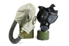 Old Anti-Gas Masks Royalty Free Stock Photos