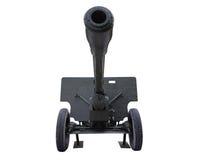 Old anti tank cannon gun Stock Images