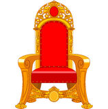Old antique armchair Stock Photo