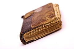 Old antique book isolated Royalty Free Stock Photography