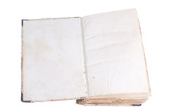 Old antique books. Isolated on white Stock Images
