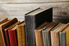 Old antique books Royalty Free Stock Image