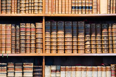 Old antique books Stock Photography