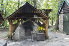 Old antique bread oven Royalty Free Stock Photo