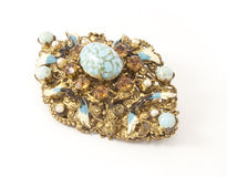 Old antique brooch  Stock Image