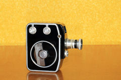 Old antique camera. Royalty Free Stock Photo