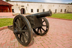 Old antique cannon Royalty Free Stock Images