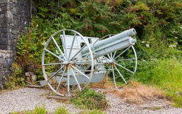 Old antique canon Royalty Free Stock Images