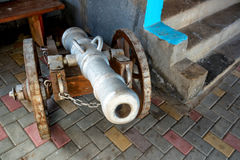 Old antique canon Royalty Free Stock Image