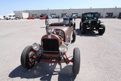 Old antique cars Stock Images