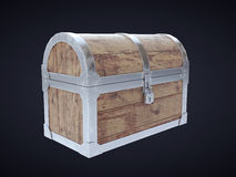 Old antique chest Royalty Free Stock Photo