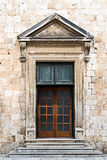 Old Antique Church Entrance Royalty Free Stock Image