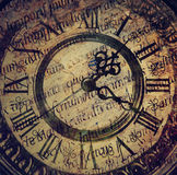 Old antique clock Stock Photos