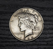 Old antique coin Royalty Free Stock Image
