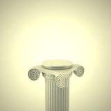 Old Antique Column 3D Royalty Free Stock Photos