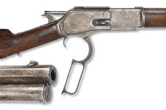 Old Antique Cowboy Rifle Stock Images