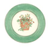 Old antique dinner plate Royalty Free Stock Photography