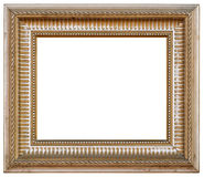Old antique and dirty picture frame for painting Royalty Free Stock Images