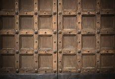 Old antique door Stock Photos