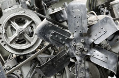 Old antique engine Royalty Free Stock Photography