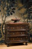 Old antique European chest of drawers Royalty Free Stock Photos