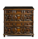 Old antique European chest of drawers Royalty Free Stock Photo