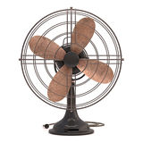 Old Antique Fan Stock Photo