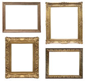 Old antique frame - set Stock Images