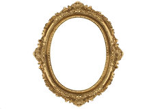 Old antique gold frame Stock Photos