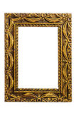 Old antique gold frame Royalty Free Stock Photos