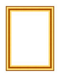Old antique gold frame Stock Photography