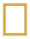 Old antique gold frame Royalty Free Stock Photography