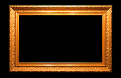 Old antique golden frame Royalty Free Stock Photos