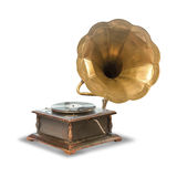 Old, antique gramophone Stock Photos