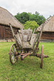 Old antique grunge history rustic wagon royalty free stock photo