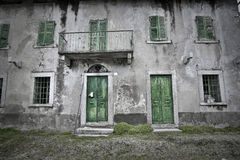 Old antique house Royalty Free Stock Photos