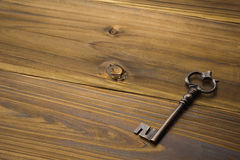 Old antique key Royalty Free Stock Images