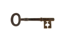 Old antique key Royalty Free Stock Image